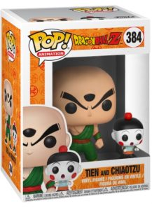Funko POP! – Animation – DragonBall-Z – Tien and Chiaotzu – 384