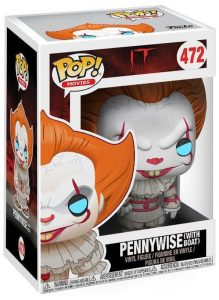 Funko POP! – Movies – IT – Pennywise with boat – 472