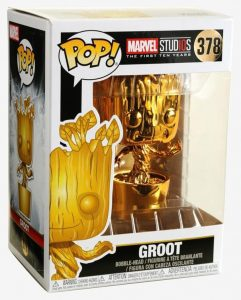 Funko POP! Marvel Studios – Groot – gold – 378