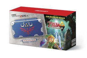 New Nintendo 2ds XL – Zelda Hylian Shield Edition