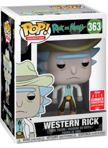 Funko POP! – Animation – Rick and Morty – Western – Rick – 363