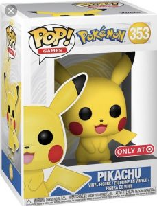Funko POP! – Games – POKEMON – Pikachu (TARGET Exclusive) – 353