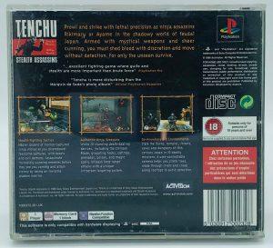 Tenchu Stealth Assassins – PAL_-_BACK
