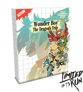 Wonder Boy : The Dragon's Trap (Limited Run Edition – #73)