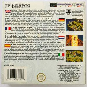 Final Fantasy Tactics Advance- PAL_-_BACK