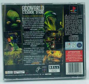 Oddworld L'Exode D'Abe- PAL_-_BACK