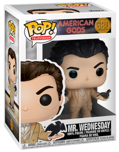 Funko POP! – Television – AMERICAN GODS – Wednesday – 680