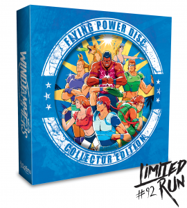 Windjammers (Limited Run Collector Edition with BLUE Frisbee)