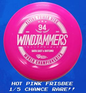 Windjammers_LimitedRunCollector_PINK – FRISBEE