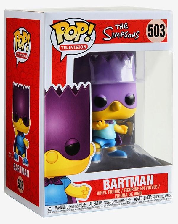 The Simpsons-Bartman Funko POP