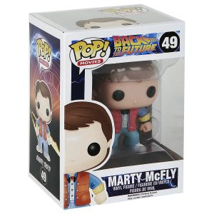 FUNKO POP! – MOVIES – BACK TO THE FUTURE – MARTY McFLY – 49