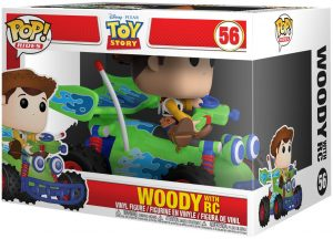 FUNKO POP! – RIDES – TOY STORY – WOODY WITH RC – 56