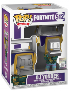 FUNKO POP! – GAMES – FORTNITE – DJ YONDER – 512
