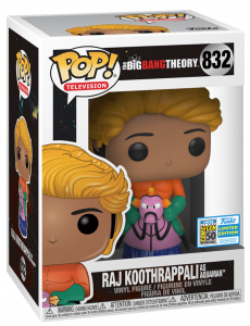 FUNKO POP! – TELEVISION – THE BIG BANG THEORY – RAJ KOOTHRAPPALI AS AQUAMAN – 832