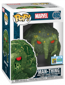 FUNKO POP!  MARVEL – MAN-THING – 492