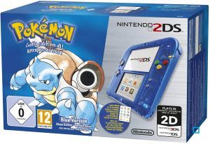 NINTENDO 2DS LIMITED EDITION – POKEMON BLUE VERSION