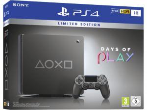 PLAYSTATION 4 – EDITION LIMITEE – DAYS OF PLAY – STEEL GRAY