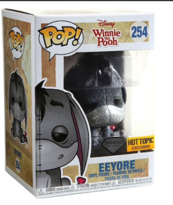 FUNKO POP! – WINNIE THE POOH – EEYORE (DIAMOND COLLECTION) – 254