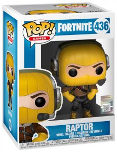 FUNKO POP! – GAMES – FORTNITE – RAPTOR – 436