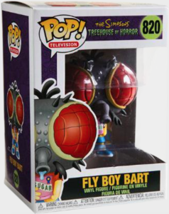 Funko POP! – Television – THE SIMPSONS – Fly Boy Bart – 820