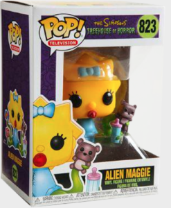 Funko POP! – Television – THE SIMPSONS – Alien Maggie – 823