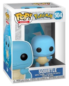 Funko POP! – Games – POKEMON – Carapuce (Squirtle) – 504
