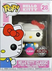 Funko POP! – Games – HELLO KITTY – Hello Kitty (Classic – FLOCKED) – 28