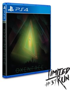 Oxenfree (Limited Run Edition — #37)