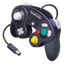 Controller Gamecube Black inside