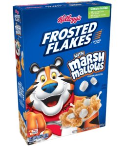 KELLOGG'S FROSTED FLAKES MARSHMALLOWS CEREAL (Frosties)