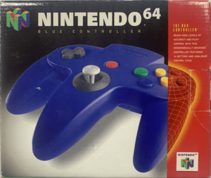 Nintendo 64 N64 Controller BLUE / Official (Bleue)