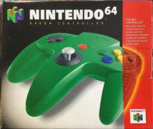 Nintendo 64 N64 Controller GREEN / Official (Verte)