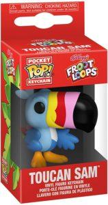 Funko Pocket POP! Keychain (porte-clé) – KELLOGG'S FROOT LOOPS – Toucan Sam