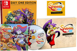 Shantae 1-2 Genie Hero ULTIMATE EDITION – PAL – inside