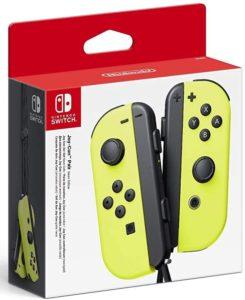 Nintendo Switch Joy-Con pair – NEON YELLOW (Jaune)