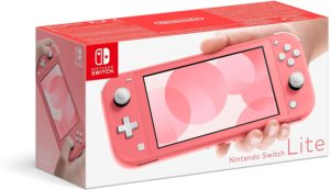Console Nintendo Switch Lite CORAL (ROSE)