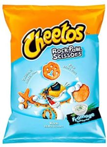 CHEETOS ROCK PAW SCISSORS – CHEESE FLAVOUR