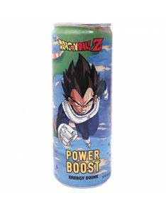 Dragon Ball Z Vegeta Power Boost Energy drink