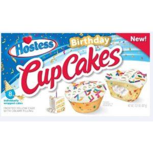 Hostess – Birthday Cup Cakes