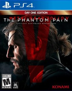 Metal Gear Solid V The Phantom Pain: Day One Edition