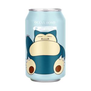 Ocean Bomb Pokemon Snorlax – White Grape Flavour