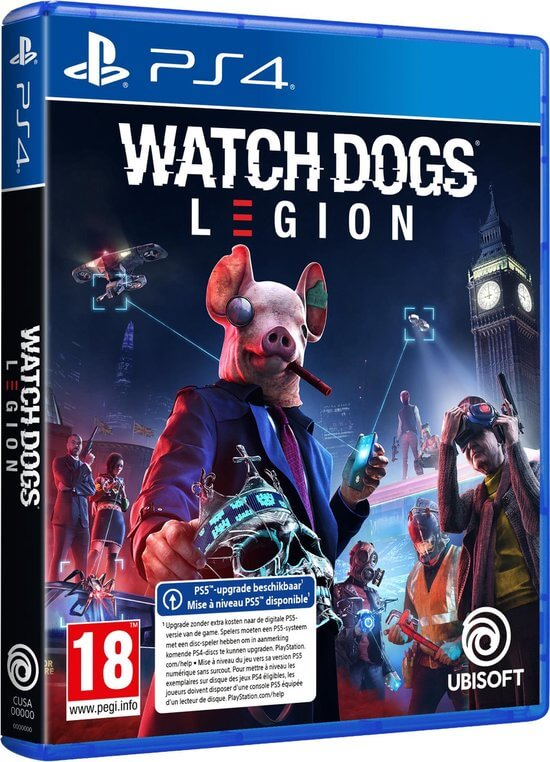 Watch Dogs Legions With Upgrade To Ps5 Super Gaby Games