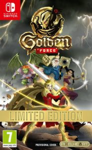 Golden Force – Limited Edition Nintendo Switch
