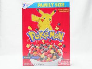 Pokemon Cereals Family Size