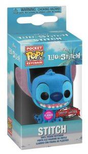 Funko POP! – DISNEY- Lilo & Stitch – STITCH – Exclusive // Flocked (Super Gaby Games BELGIUM excl. !)
