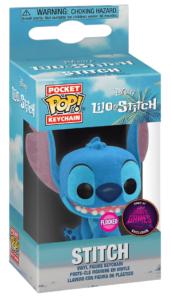 Funko POP! vinyl figure – DISNEY- Lilo & Stitch – STITCH – Exclusive // Flocked (Super Gaby Games BELGIUM excl. !)