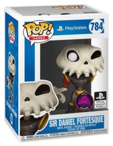 Funko POP! – GAMES – MediEvil – SIR DANIEL FORTESQUE – Exclusive // Metallic (Super Gaby Games BELGIUM excl. !)