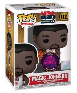 Funko POP! – NBA: Legends – MAGIC JOHNSON (1992 Team USA) – Exclusive (Super Gaby Games BELGIUM excl. !)