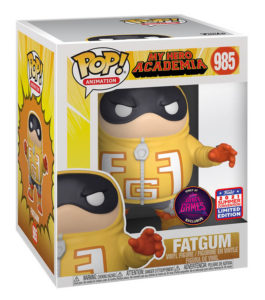 Funko POP! – ANIMATION – My Hero Academia – FATGUM (985) 6″ – Exclusive (Super Gaby Games BELGIUM excl. !)